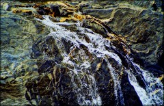 abstract nature (Emily Taliaferro Prince) Tags: nature water rock stream vermont geology
