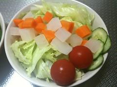 朝食サラダ(2011/5/18)