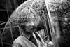 at the eye of the storm~ Shanghai (~mimo~) Tags: 1933 architecture asia china hongkou mimokhairphotography shanghai slaughterhouse streetphotography girl umbrella rain drops bokeh blur movement