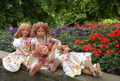 Blumenkinder ... (Kindergartenkinder) Tags: dolls himstedt annette kindergartenkinder essen park gruga tivi bellis sanrike