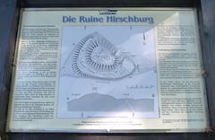 2016 Germany // Burgensteig Bergstrae // Ruine Hirschburg (maerzbecher-Deutschland zu Fuss) Tags: 2016 burgensteig bergstrasse bergstrase wanderweg wandern natur deutschland germany trail wanderwege maerzbecher deutschlandzufuss hiking trekking weitwanderweg fernwanderweg deutschlandzufus badenwrttemberg ruinehirschburg burg castle