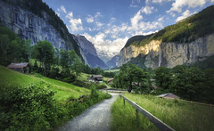 Into The Valley (Presetpro) Tags: adobelightroom adobelightroompresets aurorahdr blendinglight canon1635mm clouds cloudy exposurevalue foggy hdr hdrphotography highdynamicrange lauterbrunnen lightroomediting lightroompresets lightroompresetspack lightsreflecting magical mistymountains morning pantheon photomatixpresets photoshop swissalps swissmountains tim timmartin travel travelphotography tripod tripods