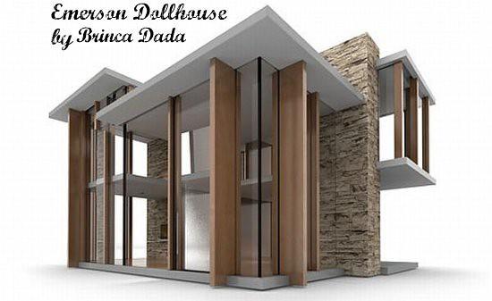 Brinca Dada Modern Dollhouse