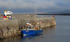 Sitting at the dock of the bay (michaelgslattery) Tags: ireland sea pier dock clare burren ballyvaughan