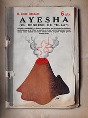 """""""Ayesha"""", portada de Manolo Prieto (obaku estudio) Tags: 1940 ilustracin manoloprieto diseogrficoantiguo"""