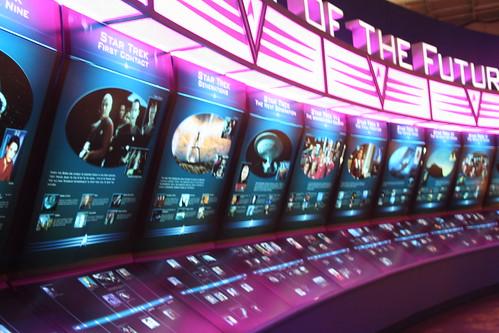 "StarTrek Exhibit: ""History of the Future"""