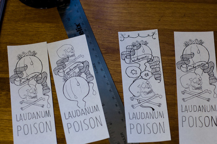 Labels. In Progress.