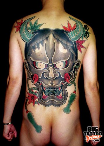 Full Back - Hannya (tattoo)