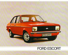 1980 Ford Escort Mk2 Brochure - Europe