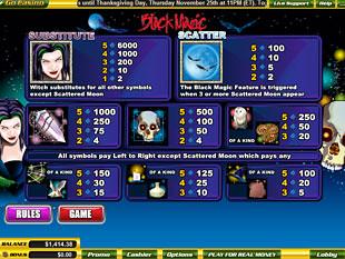 free Black Magic slot mini symbol