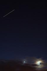 Iss Moon Venus Saturn (Dec 2nd 2010 06-55hrs Canon 350D 5 seconds) (Seanie Morris) Tags: moon station venus space international saturn virgo iss irishastronomy