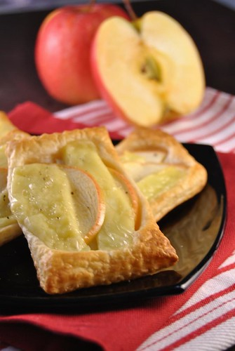 Apple and Brie Tarts
