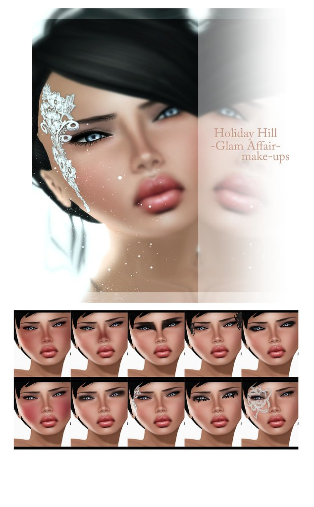 Holiday Hill-Glam Affair Makes up