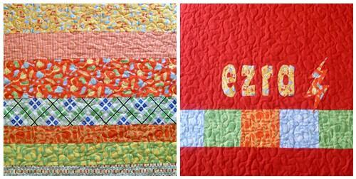 Ezra's quilt mosaic