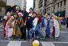 Group of Clowns!! (stewbphoto) Tags: road street color pose clown group parade clowns