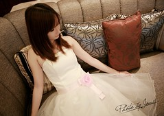 Princess Dream (JOVI ^^) Tags: china wedding light orange white film girl canon eos photographer dress shanghai flash ps iso software use 5d lovely 32 retouching lr lier jovi fliter cs5 160f28