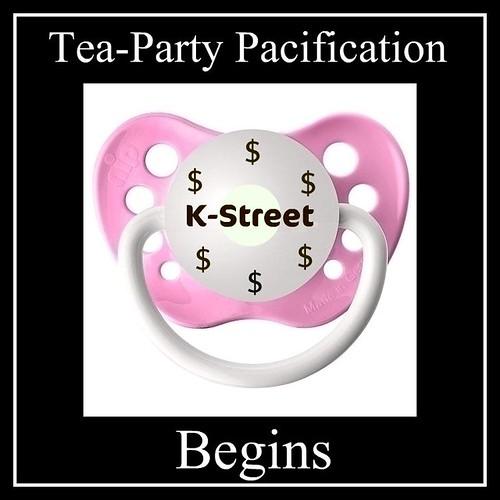 Tea party pacifier