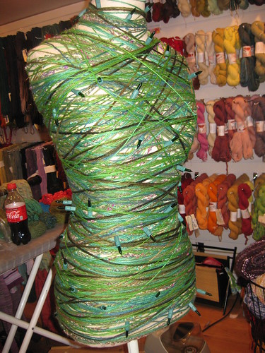 Wrapped mannequin