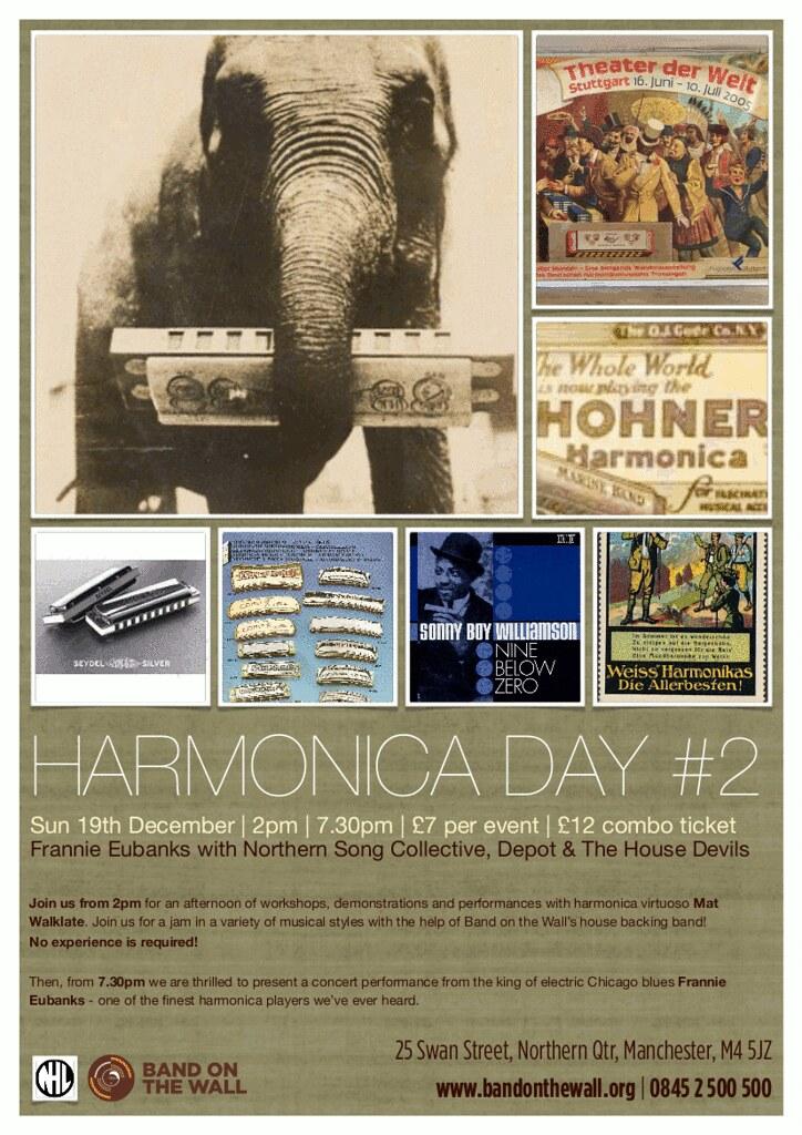 Harmonica Day Flyer