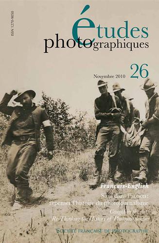 """Parution """"Etudes photographiques"""" n°26"""
