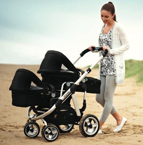 iCandy cochecito Peach Blossom y Peach Blossom gemelar, sillas de paseo para dos bebés o niños de iCandy