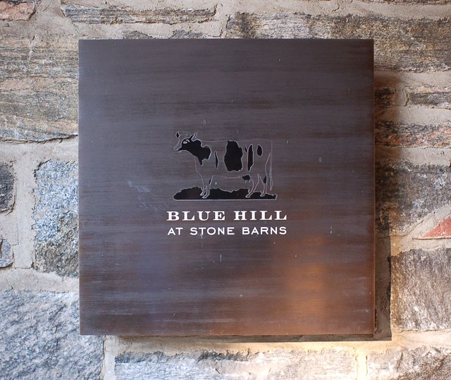 Blue Hill at Stone Barns Sign