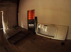 Empty Chair - im Glas Fenster Spiegel - in the glass window mirror (hedbavny) Tags: vienna wien au