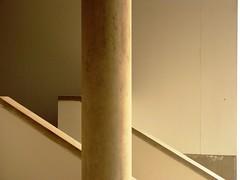 staircase and a pillar (AurangzebH) Tags: stairs pillar steps staircase pillars