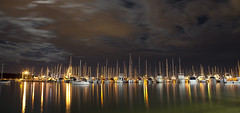Matilda Bay at Night