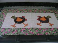 088 (Casa da Maroca) Tags: pano patchwork decorao cozinha galinhas decoraodecozinha toalhadefogo galinhasaplique