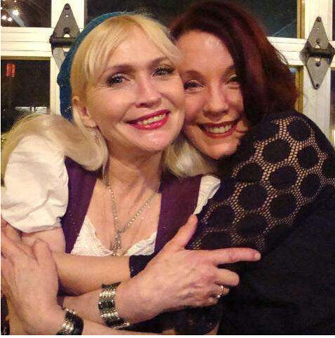 Michele Overman and Pamela Des Barres