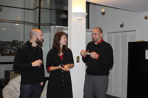 Jared, Alyssa, Daniel chat
