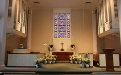 The Sanctuary at Easter