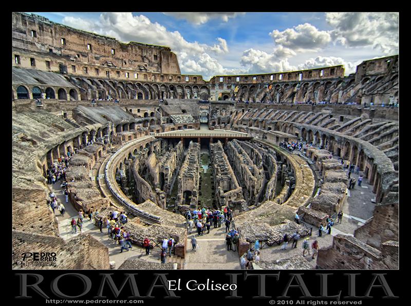 Roma - Anfiteatro Flavio (Coliseo)
