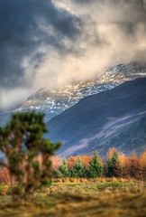 Clouds over the fells (Dave Wilson Cumbria) Tags: lake landscape scenery scafell wastwater wasdale nountain illgilhead