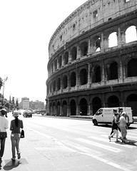 Colosseum (Chelsea Erickson) Tags: italy rome colosseum romeitaly nikond60 summer2009 chelseaerickson