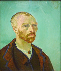 van Gogh, Self-Portrait Dedicated to Paul Gauguin