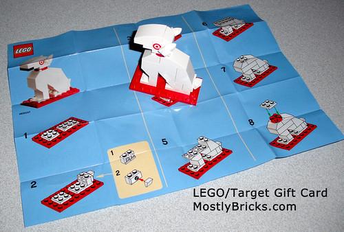LEGO Bullseye Target Mascot Exclusive Gift Card 4620157 | Mostly ...