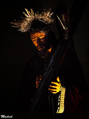 Cristo (raspu) Tags: madrid espaa spain christ almudena jesus catedral olympus cristo e1 raspu