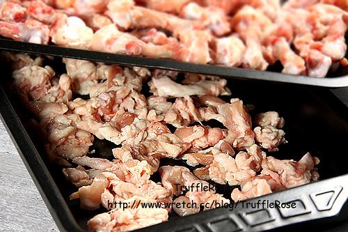 雞油渣炒黃瓜玉米-101216