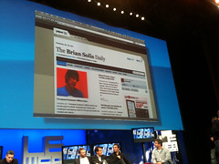 Paper.li (Smallrivers) at Startup Finals, LeWeb10