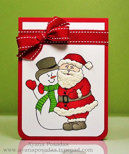 DRS Snowman and Santa (1)