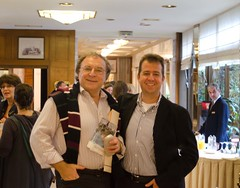 Professors Ansorge and Patrinos (GoldenHelix Symposia) Tags: institute research medicine genetic biomedical genomics symposia genome pharmacogenomics goldenhelix translational patrinosgeorge