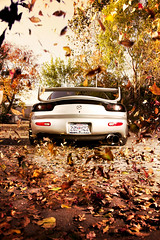 Fall FD3S (karissa_lynne) Tags: trees portrait orange fall leaves digital photoshop canon painting photography mark aaron manipulation automotive 11 before 5d after tuner 1994 mazda rx7 import hue f4 nace karissa lynne fd3s fd 24105 ef24105