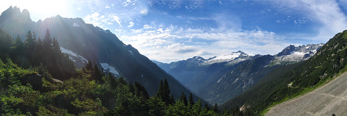 Cascade Pass, Washington-Pano
