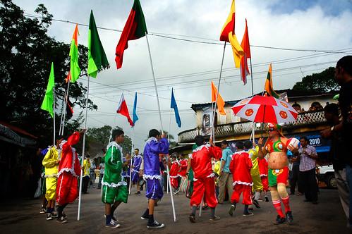 Bonderam parade in Goa, India