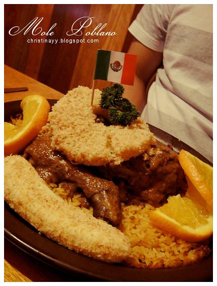 Montezuma's Mexican Restaurant: Mole Poblano