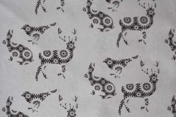 woodland doily animals