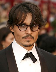 Johnny Depp tortoise eyeglasses fashion