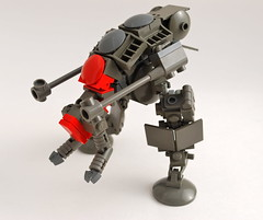 Obelisk Walker (Ironsniper) Tags: vertical dark fun grey tank thing walker obelisk